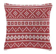 Mistral Home Dekoračný vankúšik baránok Knitting 40x40 cm