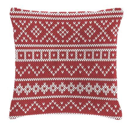 Mistral Home Dekorační polštářek beránek Knitting 40x40 cm