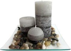 Toro Dárkový set 3 svíčky s vůní jasmín