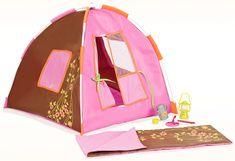 Our Generation Różowy namiot dla lalek