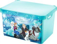 CURVER Úložný box Frozen L transparentný