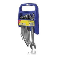 Erba zestaw kluczy otwartych 8 szt, 6-22 mm