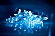 Solight lampki świąteczne LED, gwiazdki, niebieski