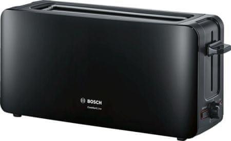 BOSCH TAT6A003 Kenyérpirító, Fekete