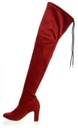PAOLO GIANNI női csizma 37 piros