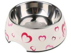 Dog Fantasy zdjelica od nehrđajućeg čelika sa srcima