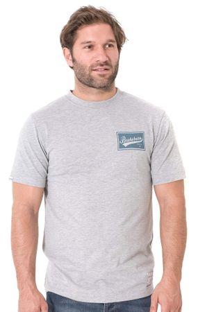 Brakeburn pánské tričko XL sivá