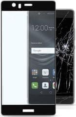 CellularLine Huawei P9 Edzett üvegfólia, Fekete