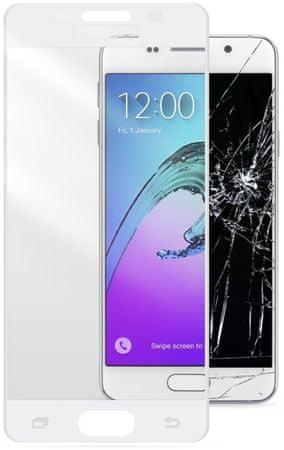CellularLine zaštitno staklo Capsule za Samsung Galaxy A3 (2016), bijelo