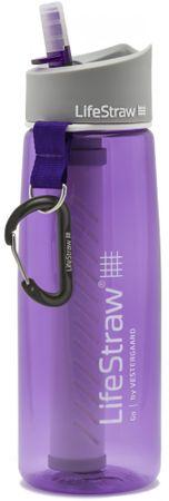 LifeStraw butelka z filtrem GO 2-Stage Purple
