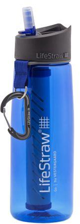LifeStraw butelka z filtrem GO 2-Stage Blue
