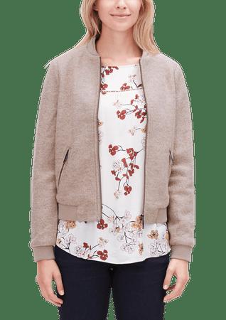 s.Oliver bluza damska 34 brązowy