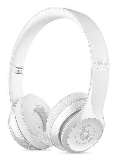 Beats Solo3 Wireless bezdrátová sluchátka leskle bílá (MNEP2EE/A)