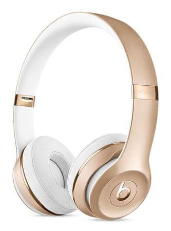 Beats Solo3 Wireless bezdrátová sluchátka zlatá (MNER2EE/A)