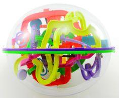 Teddies Hlavolam Bludiště ovál 3D plast 20cm