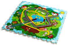 Teddies Puzzle piankowe, wieś i zwierzątka