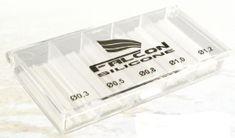 Falcon profi sada silikon bužírek - mix 5 velikostí ( 0,3/ 0,5/ 0,8/ 1/ 1,2mm )