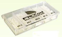 Falcon profi sada silikon bužírek - mix velikostí ( 0,5/ 0,7/ 0,9/ 1,2/ 1,5 )