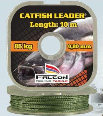 Falcon náväzcová spletaná šnúra Catfish Leader 10 m 146 kg, 10m