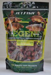 Jet Fish Boilie LEGEND Kořeněný tuňák + A.C. broskev