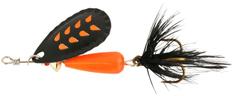 Abu-Garcia třpytka droppen fluo or b black feather