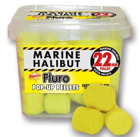 Dynamite Baits Pelety Pop-up Fluro 22 mm squid&octopus