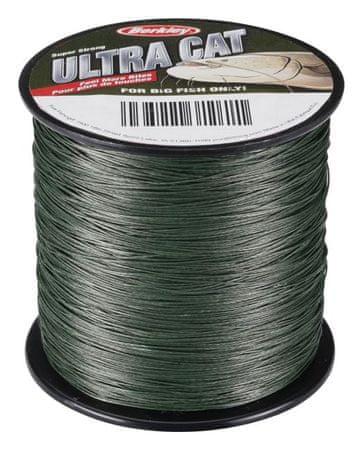 Berkley Splétaná Šňůra Ultra Cat Moos Green 0,40 mm, 60 kg