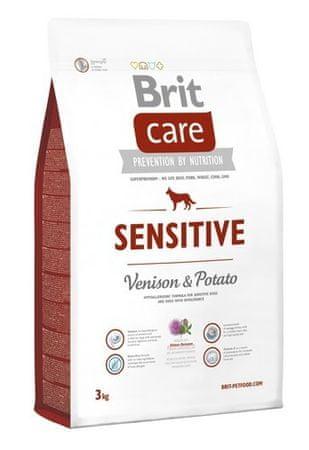 Brit hrana za pse Care Sensitive, divjačina in krompir, 3 kg