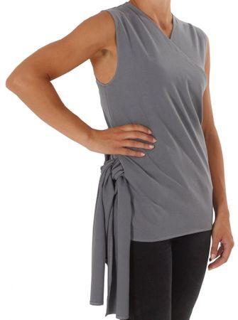 Candide Skin to Skin koszulka - Wrap Top, Grey