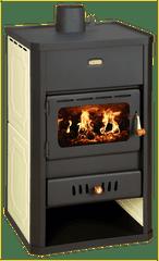Prity peć na drva S1 W10, za etažno grijanje