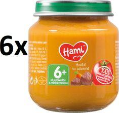 Hami Mrkva, zemiaky a hovädzie - 6 x 125g