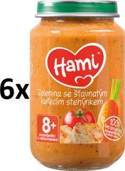 Hami Zemiaky s paradajkami a kuraťom - 6 x 200g