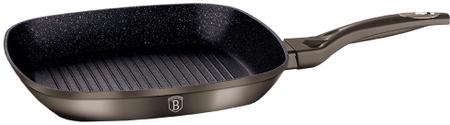 Berlingerhaus Metallic Line grillező serpenyő márvány felülettel 28 cm BH-1249