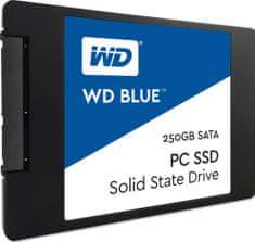 WD SSD disk Blue SATA3 2,5, 250 GB (WDS250G2B0A)
