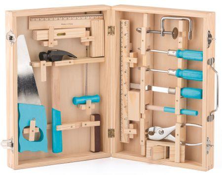 Woody Kovové náradie v drevenom kufríku