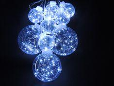 Noel LED reťaz guľa 3D 4 + 5 m