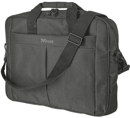 """Trust torba za prenosnik Primo, 43,9 cm (17,3""""), črna"""