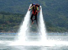 Allegria jetpack – létání nad vodní hladinou