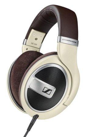 SENNHEISER HD 599 Fejhallgató, Elefántcsont