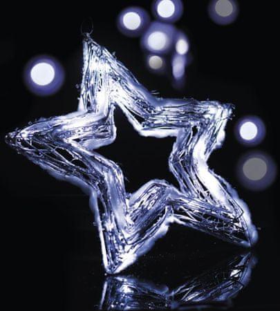 EMOS Osvetlenie Snehová hviezda 20 LED