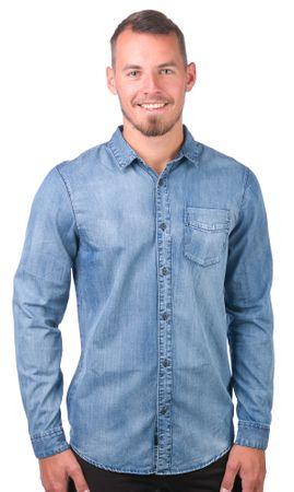GLOBE muška košulja Goodstock Vintage L plava