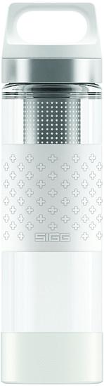 Sigg Hot & Cold Glass Wmb White 0.4 L