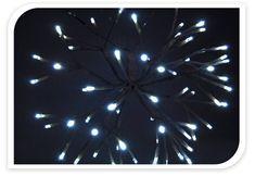 Metalac Svietiaca dekorácia vetvičky 64 LED