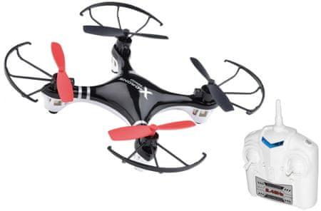 Teddies RC Dron 15 cm čierny