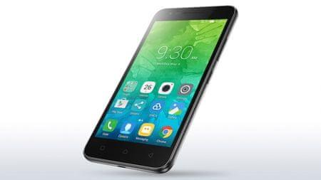 Lenovo mobilni telefon C2, crn