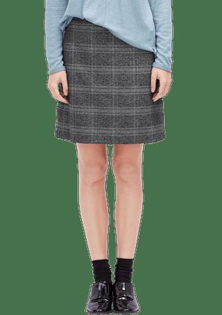 s.Oliver dámska sukňa 40 tmavosivá