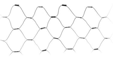 Metalac Reťaz svietiaca sieť 160 LED studená biela