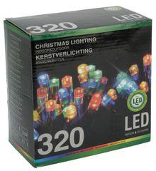 Metalac Svítící řetěz 320 LED 24+3 m multicolor