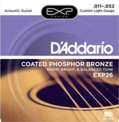 Daddario EXP26 Kovové struny na akustickú gitaru