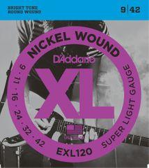 Daddario EXL120 Struny na elektrickú gitaru